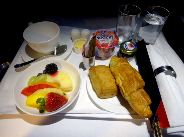 emirates business class A380