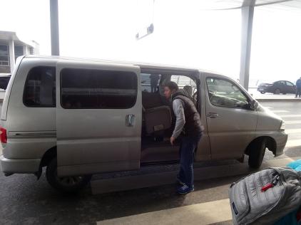 Tour company transport