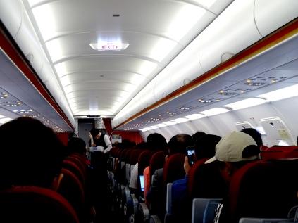 Random domestic flight