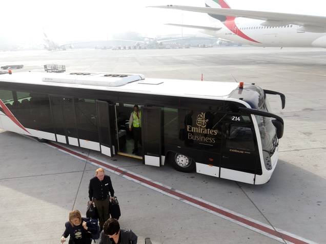 Boarding plane DBX-CPT