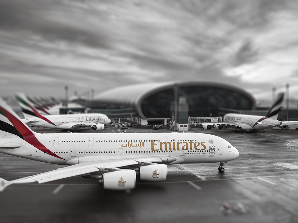 Airbus A380 (BKK-DBX)